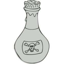 Science   bottle of poison Thumbnail