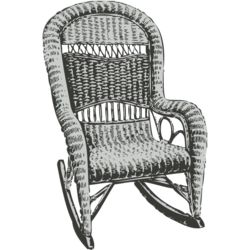 House hold things   wicker chair Thumbnail