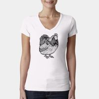 Next Level Ladies' Sporty V-Neck T-Shirt Thumbnail